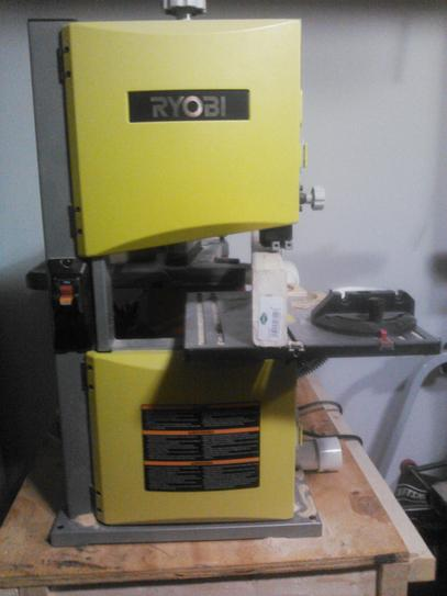 Ryobi 25 amp 9 in band saw bs904g at the home depot mobile keyboard keysfo Image collections
