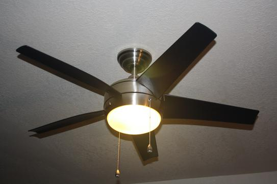 Home decorators collection windward 44 in indoor brushed nickel home decorators collection windward 44 in indoor brushed nickel ceiling fan with light kit 51565 at the home depot mobile aloadofball Choice Image