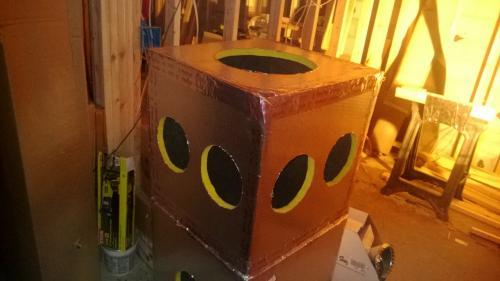 24 In X 24 In X 24 In Duct Board Plenum Kit R6 0