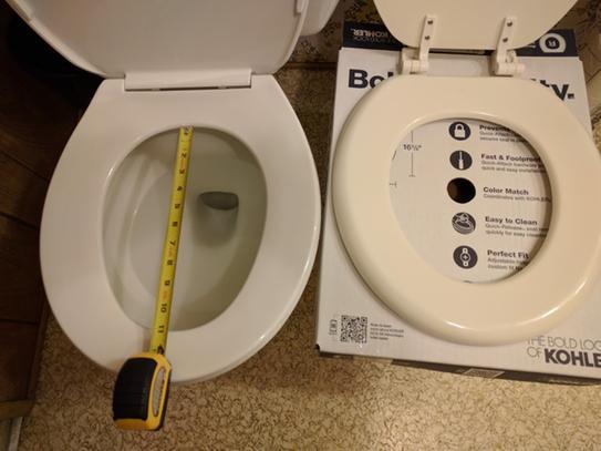 Strange Kohler Brevia Round Closed Front Toilet Seat In Ice Grey K Short Links Chair Design For Home Short Linksinfo