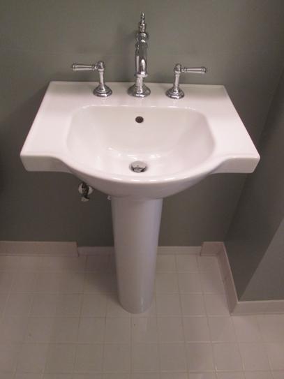 Kohler Veer 21 In Vitreous China Pedestal Combo Bathroom Sink In