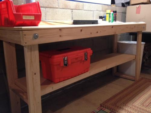signature development 72 in fold out wood workbench wkbnch72x22 at