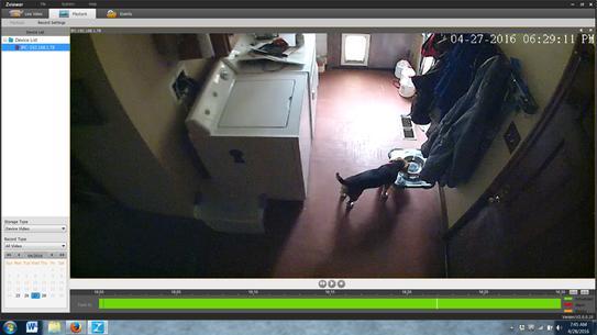 Zmodo Wireless 720TVL Indoor EZCam Security Camera ZM-SH721