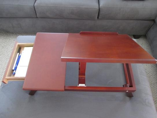 Reviews For Homecraft Furniture Espresso Lap Desk Mh421 The Home Depot
