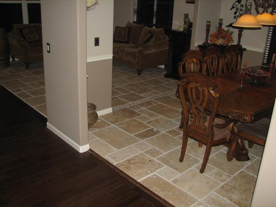 Msi Tuscany Beige Pattern Honed Unfilled Chipped Travertine Floor