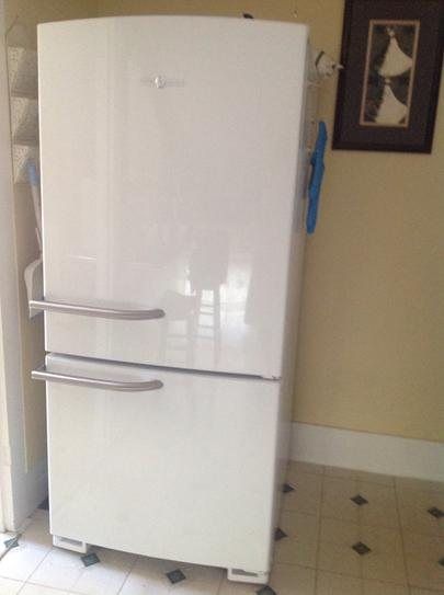 Ge Artistry 29 75 In W 20 3 Cu Ft Bottom Freezer Refrigerator In
