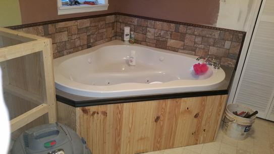 American Standard EverClean 77 in. Acrylic Corner Drop-in Whirlpool ...