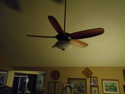 Hampton Bay Altura Ceiling Fan Light
