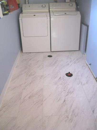 Trafficmaster Carrara Marble 12 In X 24 L And Stick Vinyl Tile 20 Sq Ft Case Ss1212 The Home Depot