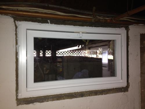 tafco windows 31 75 in x 13 75 in hopper vinyl screen window pv rh homedepot com basement window locks home depot basement windows home depot canada