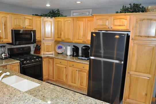 The new appliances look great in my mountain home!!!
