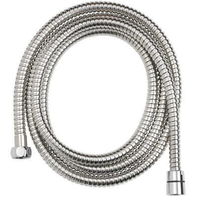 Glacier Bay 86 In Stainless Steel Replacement Shower Hose In Chrome 3075 526 The Home Depot