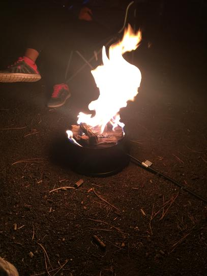 Camco Olympian Camp Fire 58031 At The Home Depot Mobile