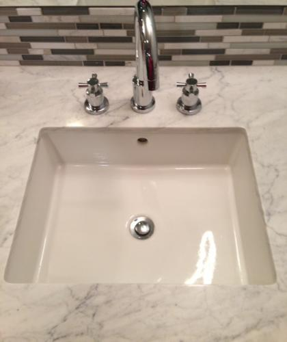 KOHLER Verticyl Vitreous China Undermount Bathroom Sink With - Bathroom drain
