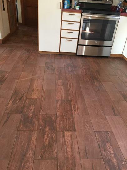 Daltile Parkwood Cherry In X In Ceramic Floor And Wall Tile - Daltile orlando fl