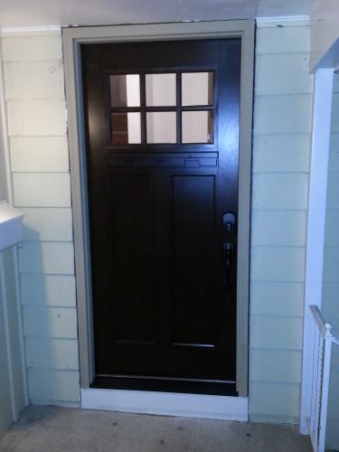 Beau Feather River Doors 37.5 In. X 81.625 In. 6 Lite Craftsman Stained Chestnut  Mahogany Left Hand Inswing Fiberglass Prehung Front Door FF3790 At The Home  ...
