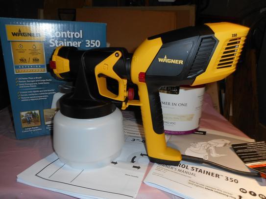 Wagner Control Stainer 350 HVLP Handheld Sprayer