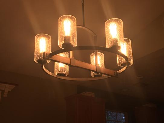 home decorators collection newbury manor collection 25 in 6 light