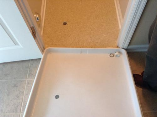 Plastic Washing Machine Pan With 1 In Furnished Drain Adapter 34067 At The Home Depot Mobile
