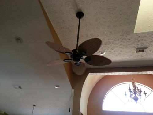 Hampton bay palm beach 48 in indooroutdoor gilded iron ceiling fan customer images 12 aloadofball Image collections