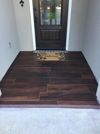 Ideal Florida Tile Home Collection Beautiful Wood Cherry 8 in. x 36 in  TL91