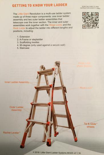 Little Giant Ladder Systems Revolution 22 Ft Aluminum Multi Use