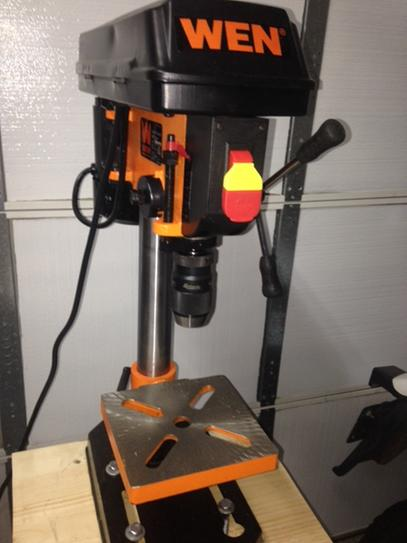 Wen 8 In 5 Speed Drill Press 4208 At The Home Depot Mobile