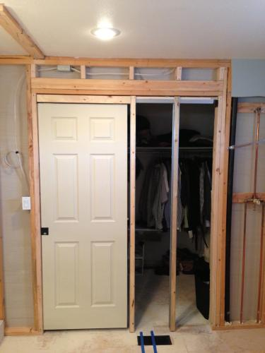 Johnson Hardware 1500hd Series 30 In X 80 Pocket Door Frame For 2x4 Stud Wall 152668hd At The Home Depot Mobile