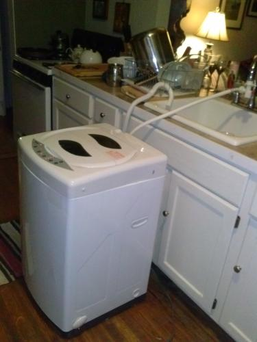 Danby 1 7 Cu Ft Portable Top Load Washer In White