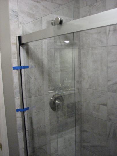 Kohler Levity 48 In X 74 Semi Frameless Sliding Shower Door Silver With Handle K 706008 L Sh At The Home Depot Mobile