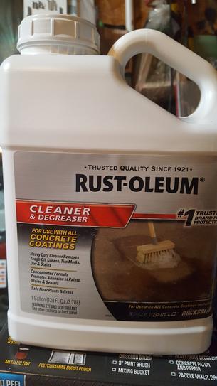 Rust Oleum Rocksolid Metallic Brilliant Blue Garage