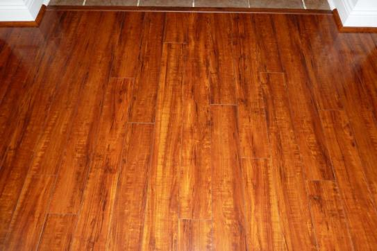 Hampton Bay Perry Hickory 8 Mm Thick X 5 In Wide X 47 3 4