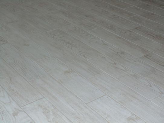Perfect MARAZZI Montagna White Wash 6 in. x 24 in. Glazed Porcelain Floor  EV14