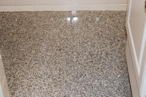 MSI White Sparkle 12 in x 12 in Polished Granite Floor and Wall
