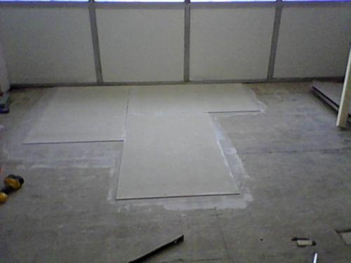 James Hardie HardieBacker Ft X Ft X In Cement Backerboard - Hardie board subfloor