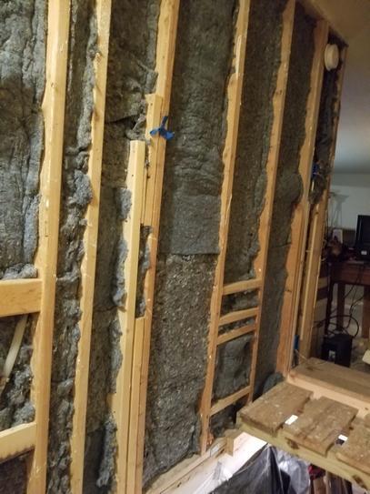 "R-6.7 Ultra Touch Denim Insulation Batting Roll 16/"" x 48/"" Acoustical Walls floor"