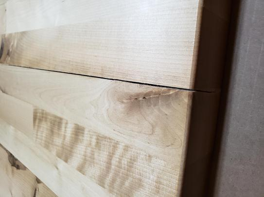 Crack in table top