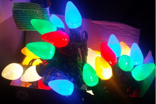 Customer Images (5) - GE Energy Smart Colorite 50-Light LED Multi-Color C7 Light Set