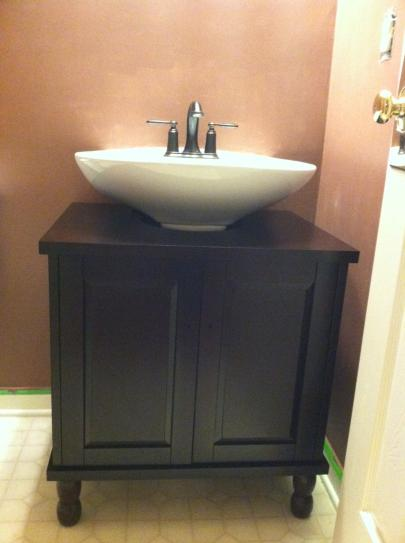 Sinkwrap 25 In W X 20 In D Vanity Cabinet Only For