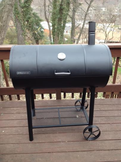 Brinkmann 55 Gal Drum Charcoal Grill 810 3055 S At The