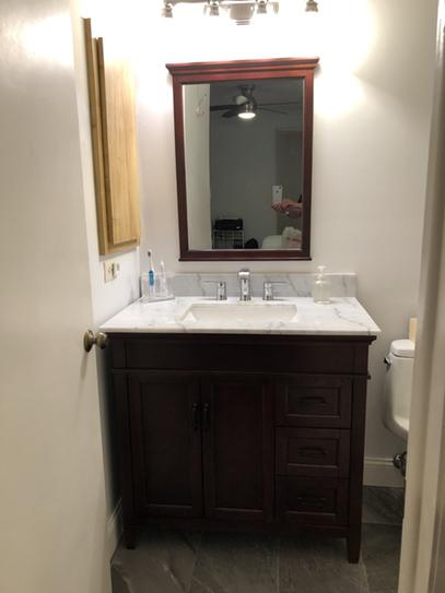Home Decorators Collection Ashburn 36 In W Bath Vanity Cabinet Only In Mahogany Asga3621dr The Home Depot