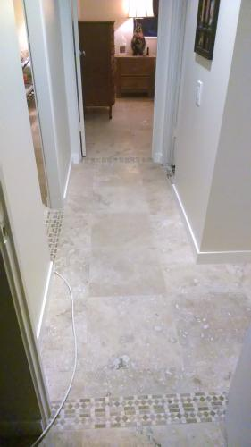 Msi Castle 18 In X 18 In Honed Travertine Floor And Wall Tile 9