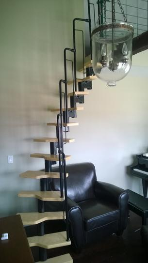 Dolle Graz 23 In. Black Modular 12 Tread Stair Kit 68440 At The Home Depot    Mobile