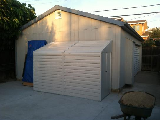 Arrow Yard Saver 4 Ft. X 10 Ft. Metal Storage Building YS410 At The Home  Depot   Mobile