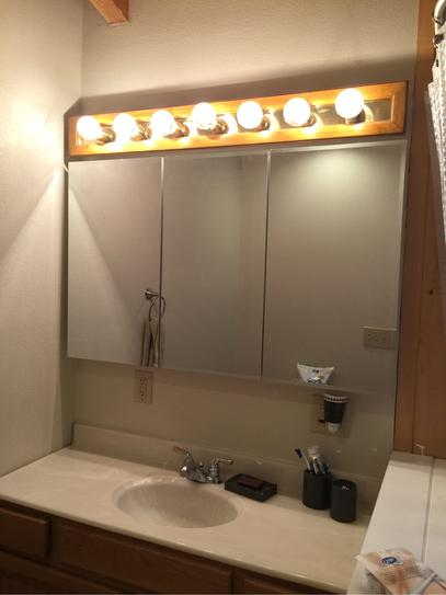 Glacier Bay 48 In. X 30 In. Frameless Surface Mount Bathroom Medicine  Cabinet In White T48 BM At The Home Depot   Mobile