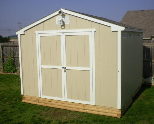 Handy Home Products Princeton 10 Ft. X 10 Ft. Wood Storage Shed 18250 1 At  The Home Depot   Mobile