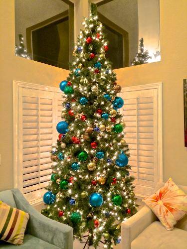 home accents holiday 10 ft juniper spruce quick set artificial christmas tree with 900 clear lights tga0m4b65c00 the home depot - 10 Christmas Tree