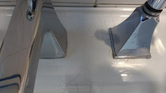 Spider Cracks on Kohler Sink 2