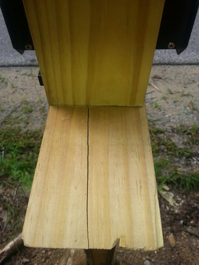 Barrette 4 in  x 4 in  x 6 ft  Pressure-Treated Southern