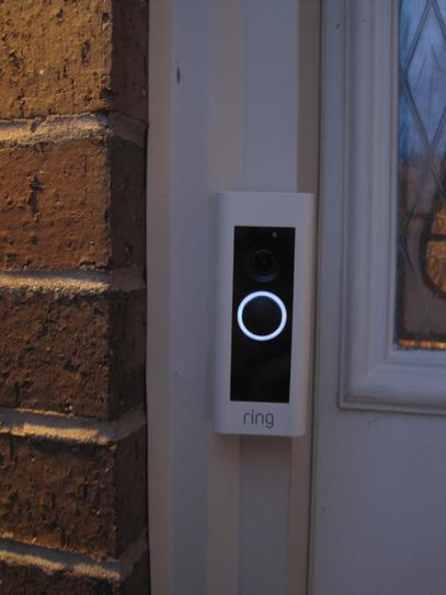 Ring 1080P HD Wi-Fi Video Wired Smart Door Bell Pro Camera